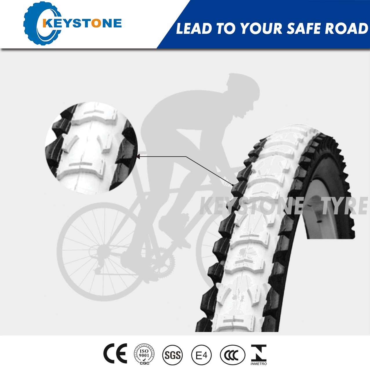 Euro Standard Bicycle Parts, Bicycle Tyre Factory Supply (8
