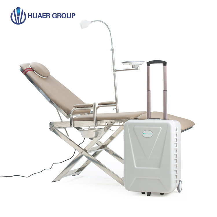 Enjoyable Hot Item Foldable Mobile Dental Chair Portable Dental Unit Chair With High Quality Pabps2019 Chair Design Images Pabps2019Com