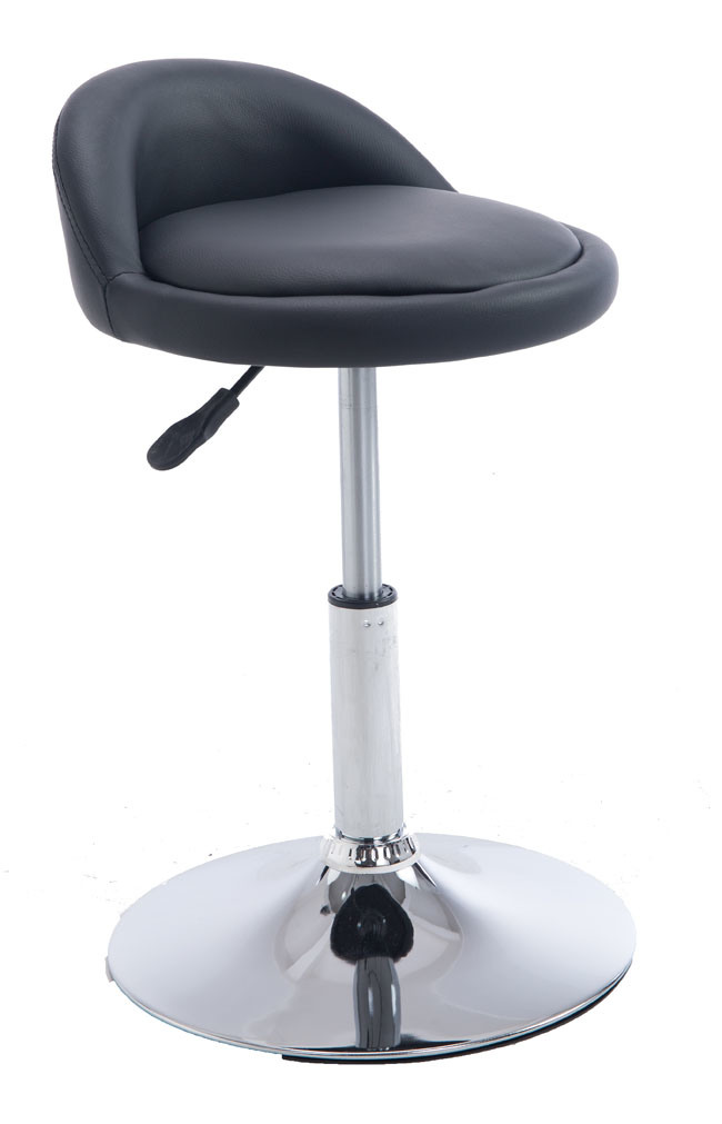 Sensational Hot Item Round Seat Stainless Steel Fashion Adjustable Pu Leather Bar Stools Wholesale Adult High Chair Dailytribune Chair Design For Home Dailytribuneorg