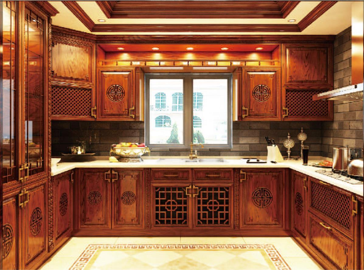[Hot Item] 10 New Model Hot Sale Solid Wood Kitchen Cabinet Furniture