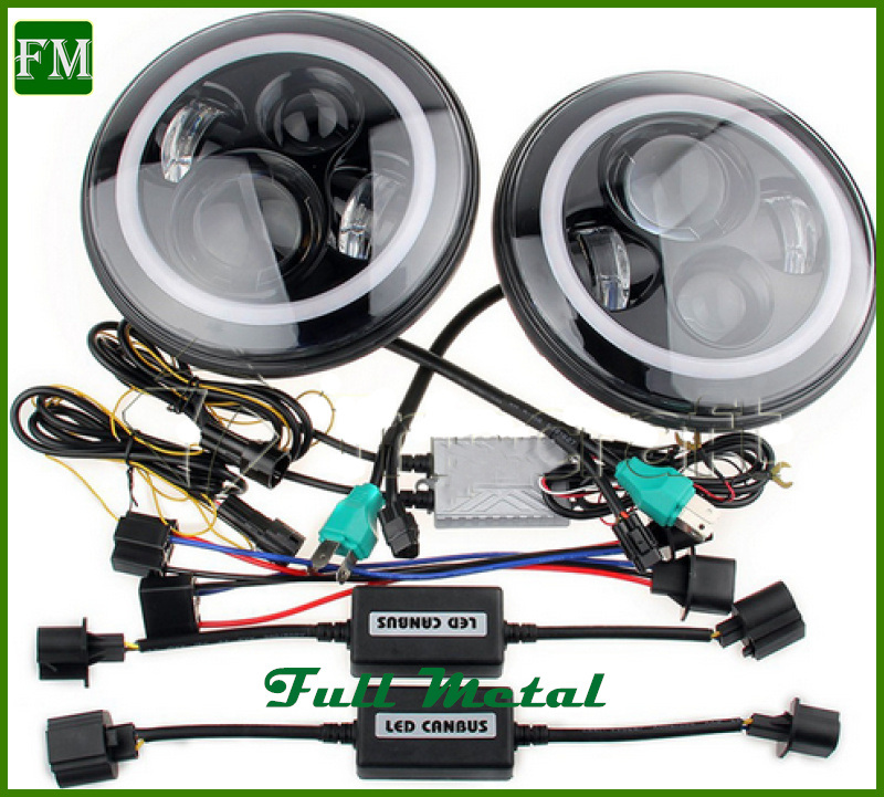 Auto Parts 45W 4D LED Front Lamp for Jeep Wrangler Jk pictures & photos