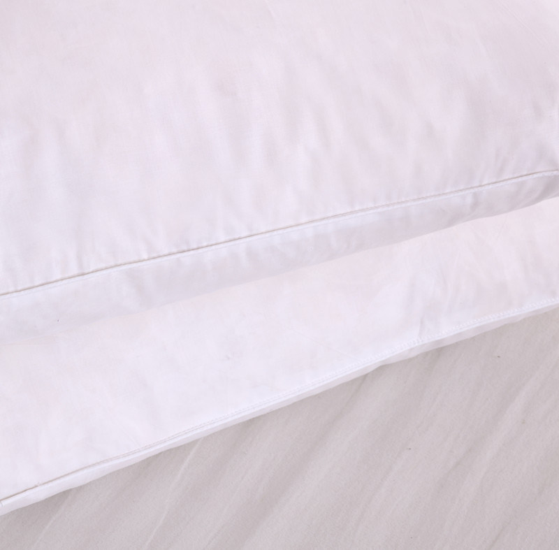 Home/Hotel Cotton Fabric Polyester Filling Sleeping Pillow pictures & photos