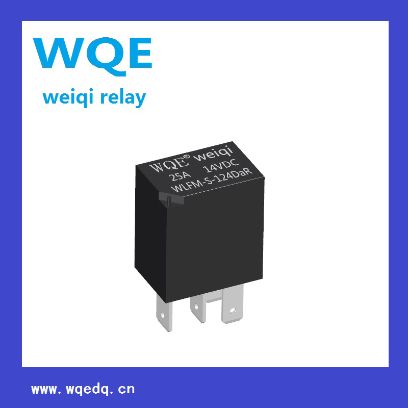 Miniature Automotive Relay PCB& Plug-in Mounting Methods 25A 14VDC Auto Parts (WLFM)