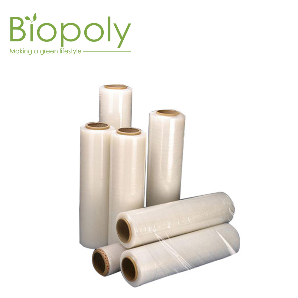 [Hot Item] Food Service PLA Biodegradable Plastic Food Packing Fresh Wrap  Cling Film