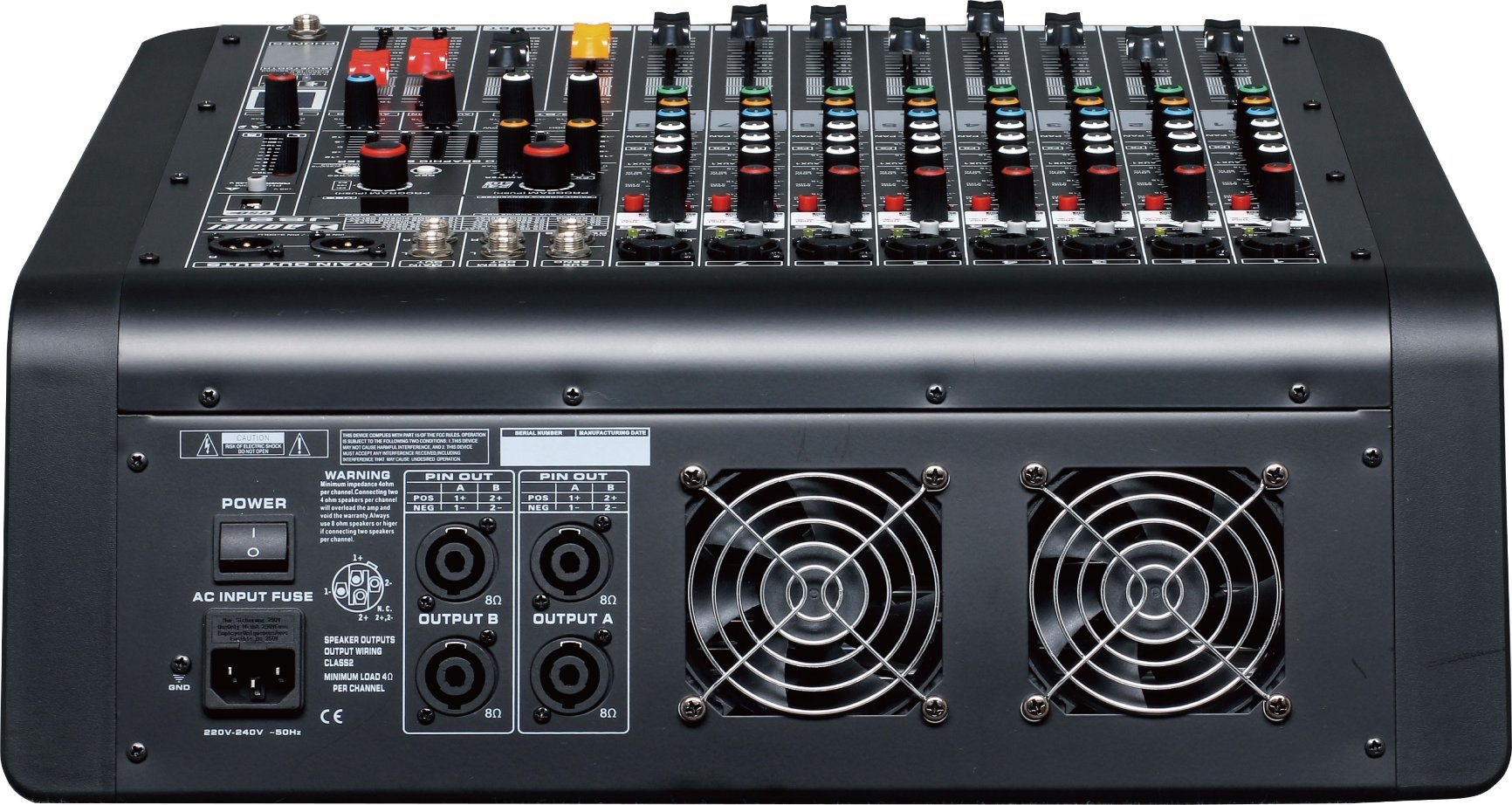 Special New Design Powered Mixer Jb8p Series Professional Amplifier