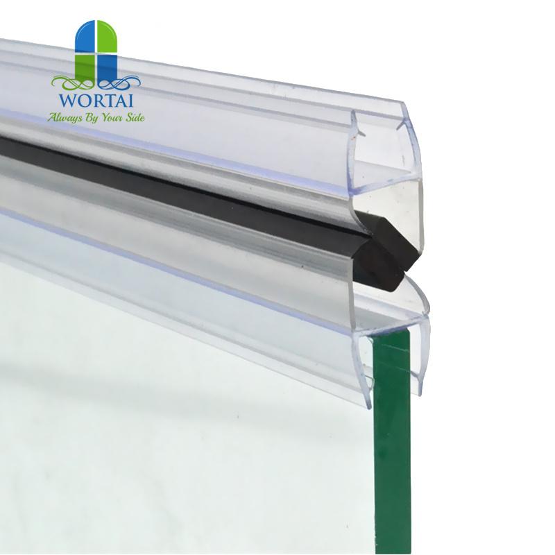 China Door Strip Seal Rubber, Glass Shower Door Rubber Seal Strip