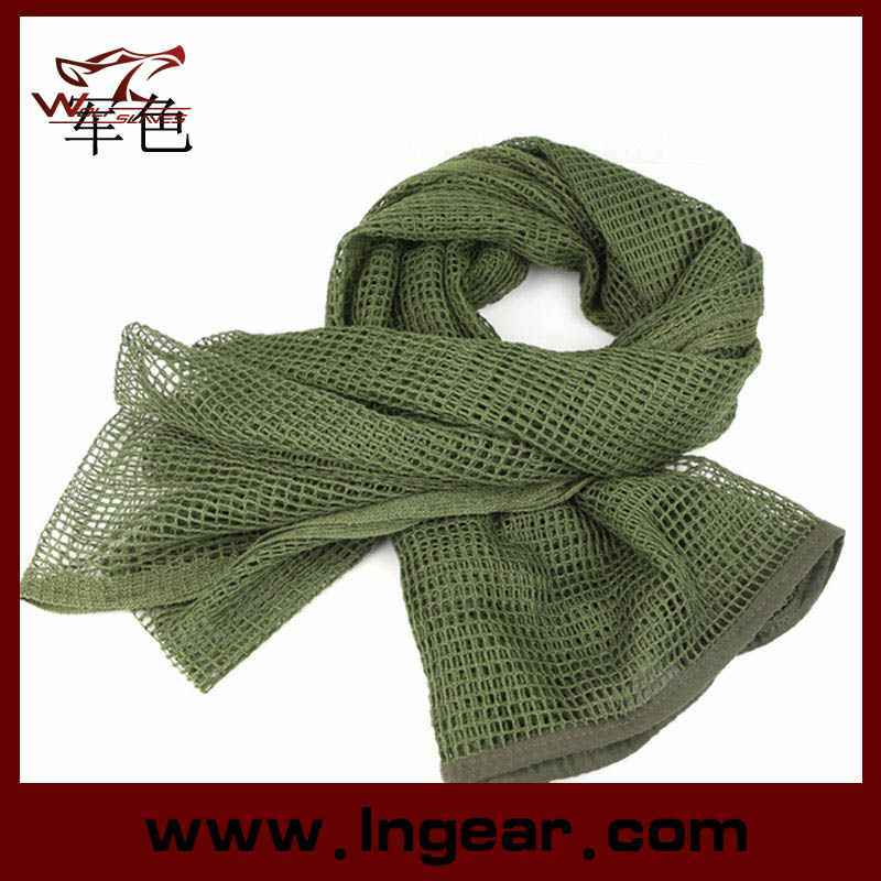 Outdoor Airsoft Multifunctional Tactical Gear Sports Scarf Camouflage Scarves