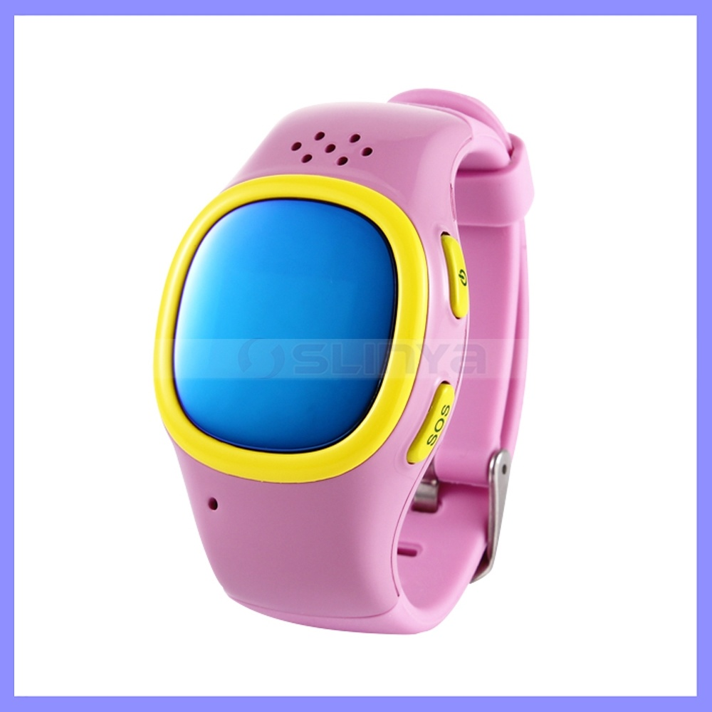 Sos GPS Child Kids Cell Phone Watch Intelligent Tracking Device Smart Watch for Children Baby Clock Gift