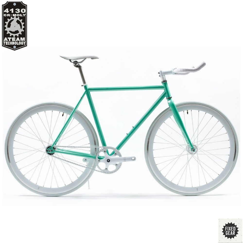 5d22cc800 700c Fixie Bike Am6 Single Speed China Supplier 4130 Steel Frame Fixed Gear  Bicycle Bike Factory in China