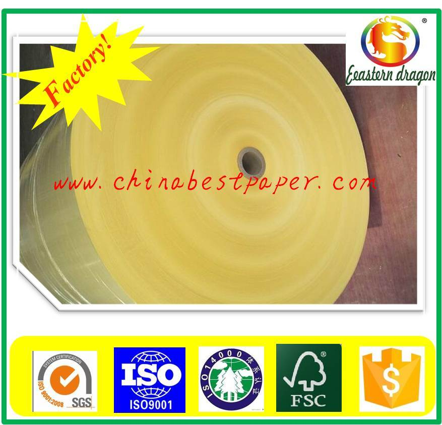 Hot melt Yellow 40g Release Base Paper