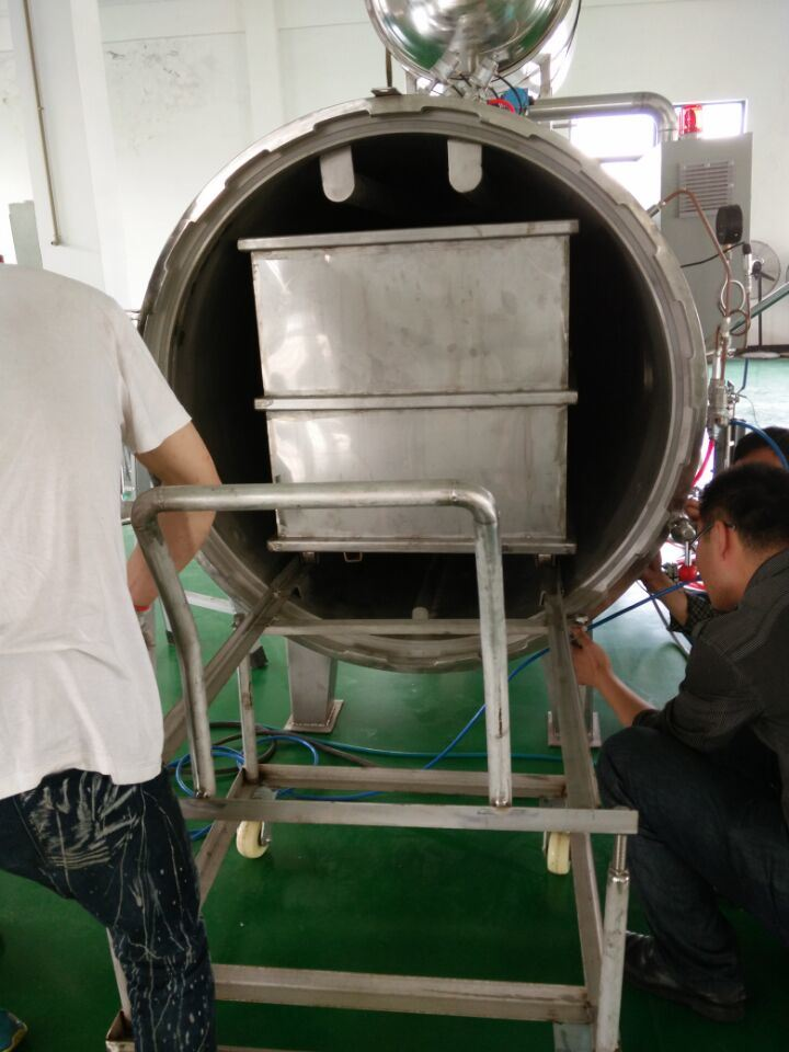 Automatic Steam Heating Food Retort Autoclave pictures & photos