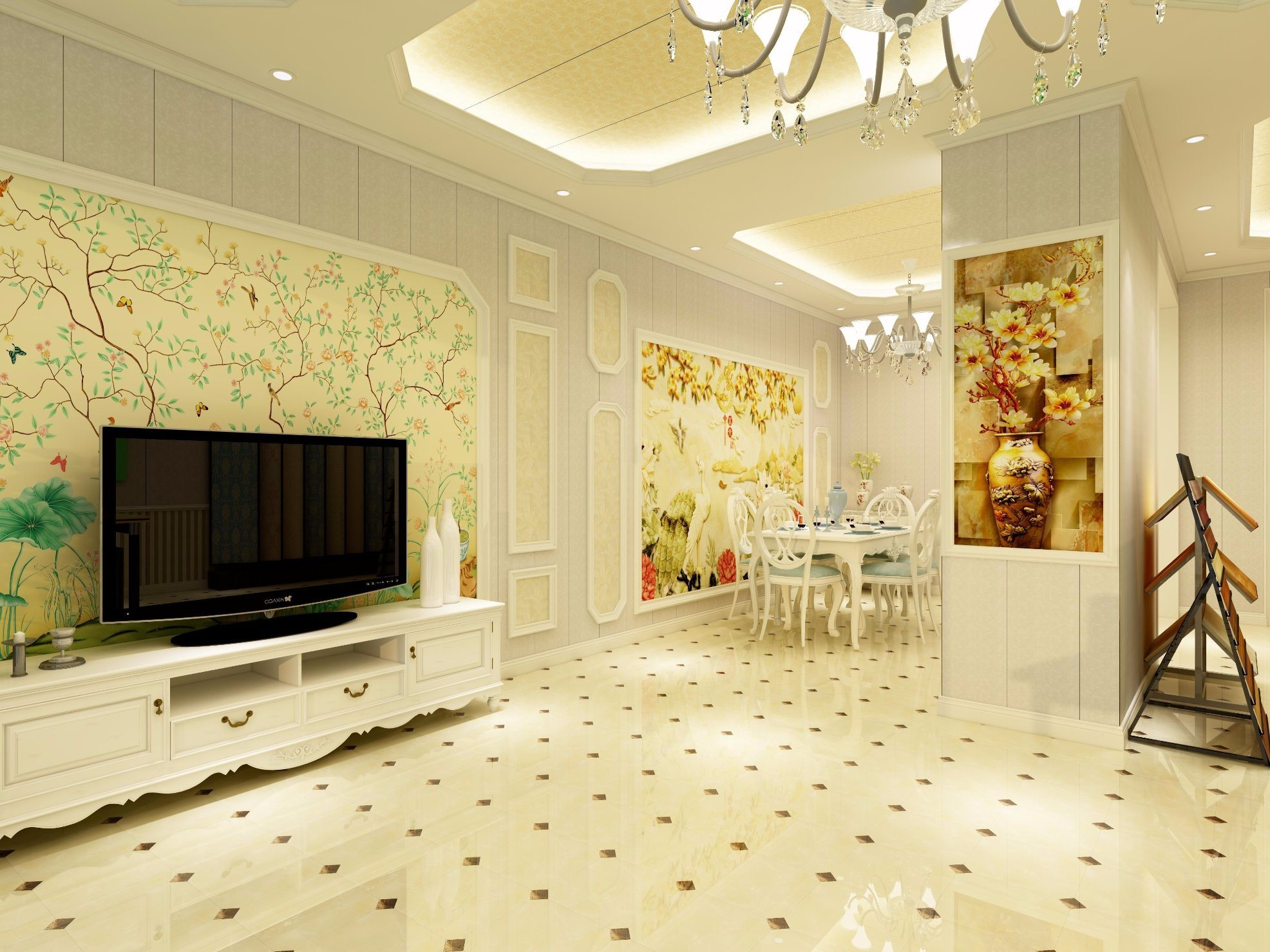 China Finishing Material WPC Laminated Wall Panel for Intrerior ...