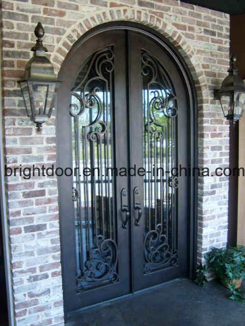 China Modern Wrought Iron Decorative Exterior Door Gates