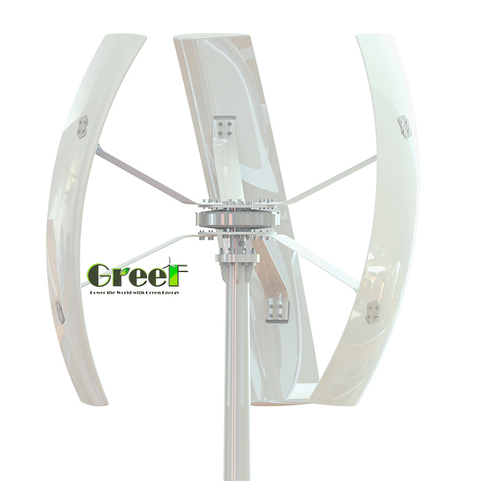 500W 1kw 2kw Small Mini Vertical Wind Generator Turbine for Sale pictures & photos