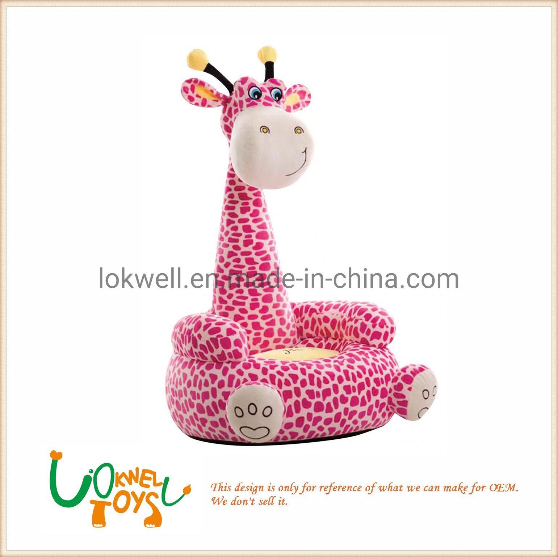 Awe Inspiring Hot Item High Quality Cartoon Giraffe Plush Baby Animal Sofa Chair Andrewgaddart Wooden Chair Designs For Living Room Andrewgaddartcom