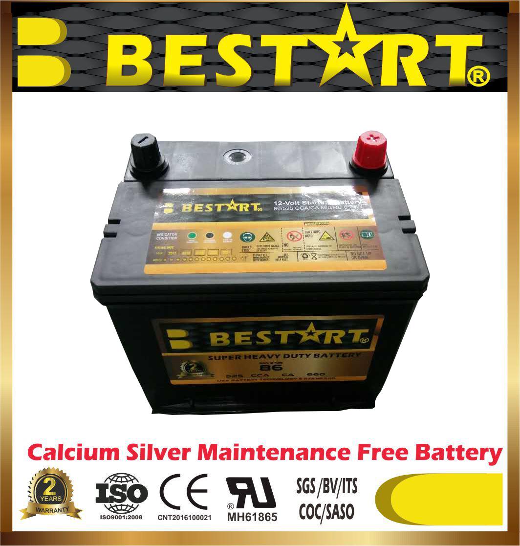 [Hot Item] Manufacturing 86-661 12V 60ah Super Power Capacitor Car Battery