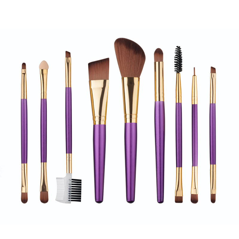 Manufactory Wholesale 9PCS Makeup Brush Set