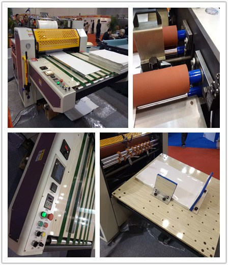 Thermal Film Laminator Machine with Sheeting Device