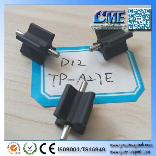China Injection Molded Magnetic Water Flow Rotor for Water Heater ...