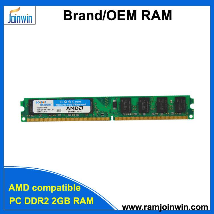 [Hot Item] Tested AMD Motherboard Compatible Desktop DDR2 2GB RAM