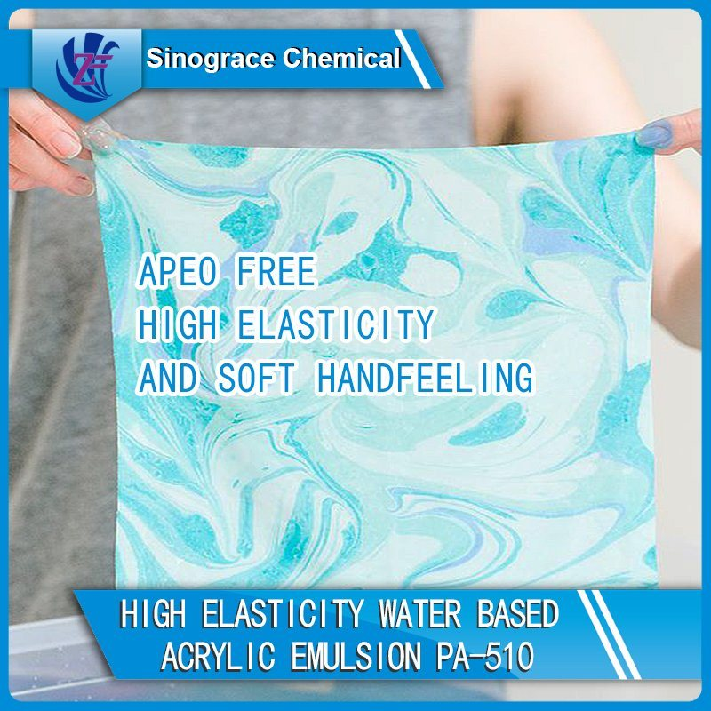Washable Water Based Acrylic Emulsion for Textile Coating