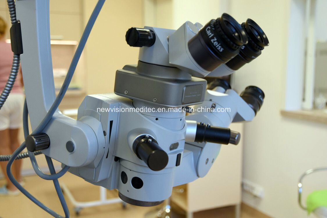 Inverter Lens for Operation Microscope for Retinal Vitreous Surgery