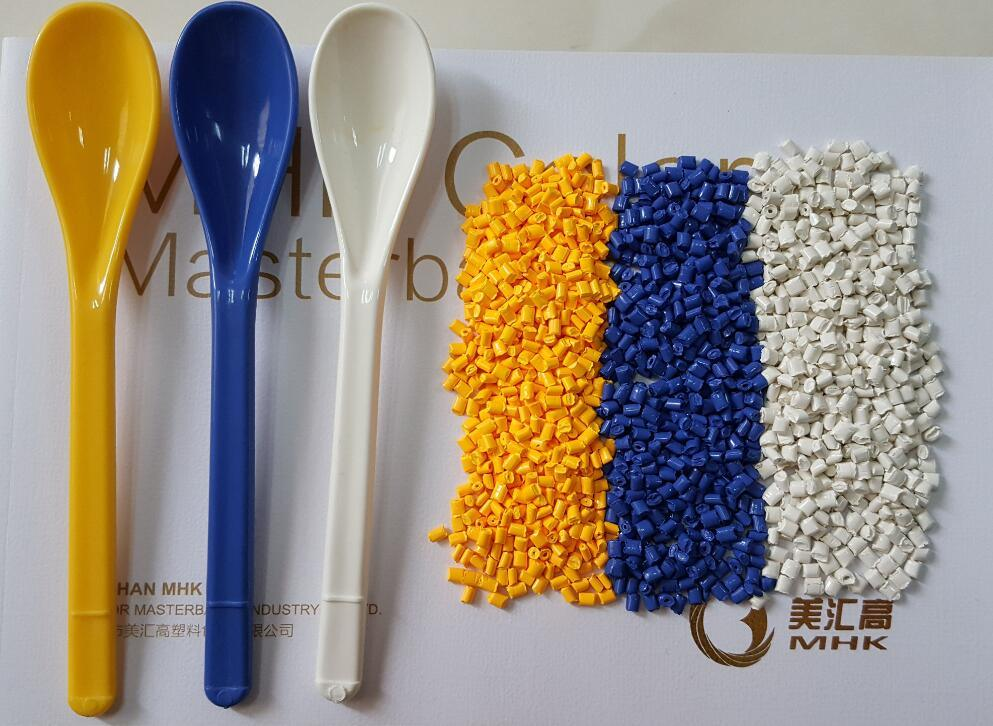 PP, HDPE, LDPE Resins White Color Masterbatch