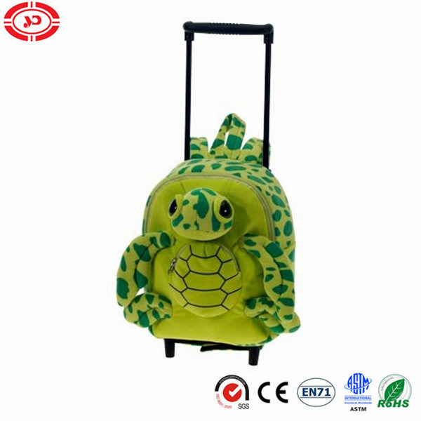 Animal Options Cute Plush Fluffy Kids Gift Travel Trolley Bag