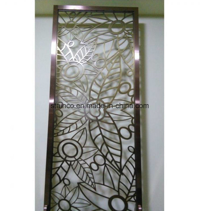 Residential Interior Metal Folding Screen pictures & photos