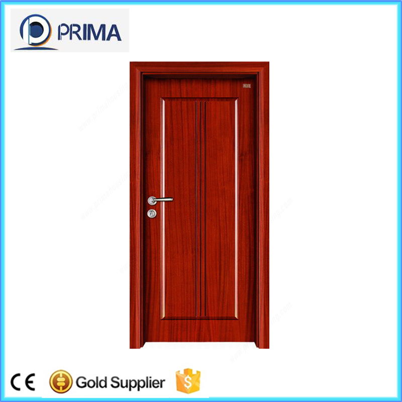 China Cheap Wooden Internal Door 6 Panel Interior Doors with Frame ...