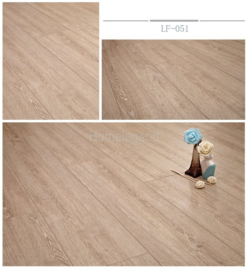 China Light Color Wood Grain Ac3 F4 Hdf, Light Colored Laminate Flooring