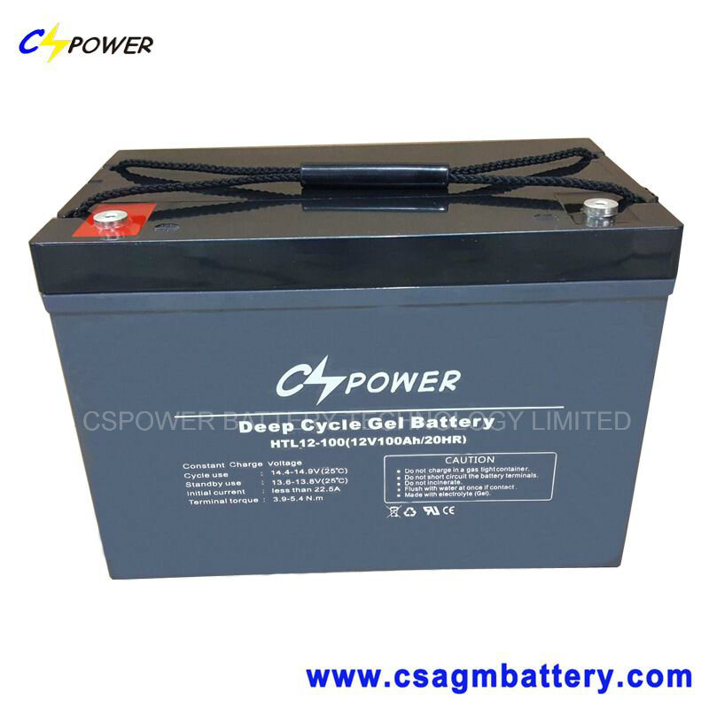 Deep Cycle Solar Gel Battery 12V14ah-300ah pictures & photos