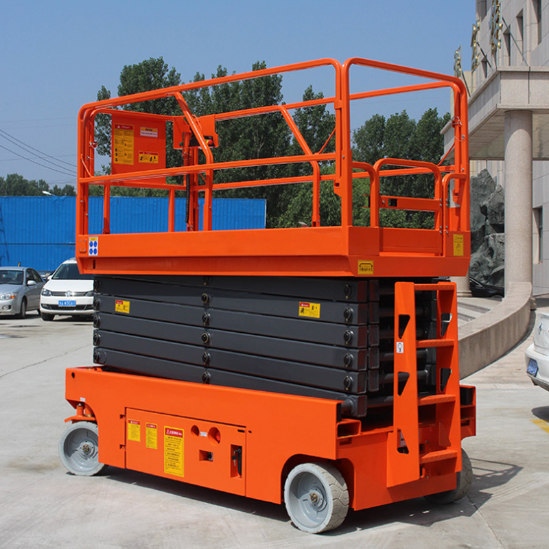 [Hot Item] China Premium Supplier Genie Scissor Lifts with Ce