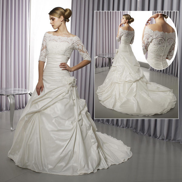 Wedding Gown Preservation Process Machines: China Unique Wedding Dress, Saucy Bridal Gown (US1065