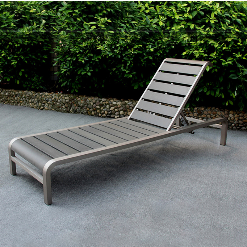 Poly Wood Deck Chair Outdoor Sunbed