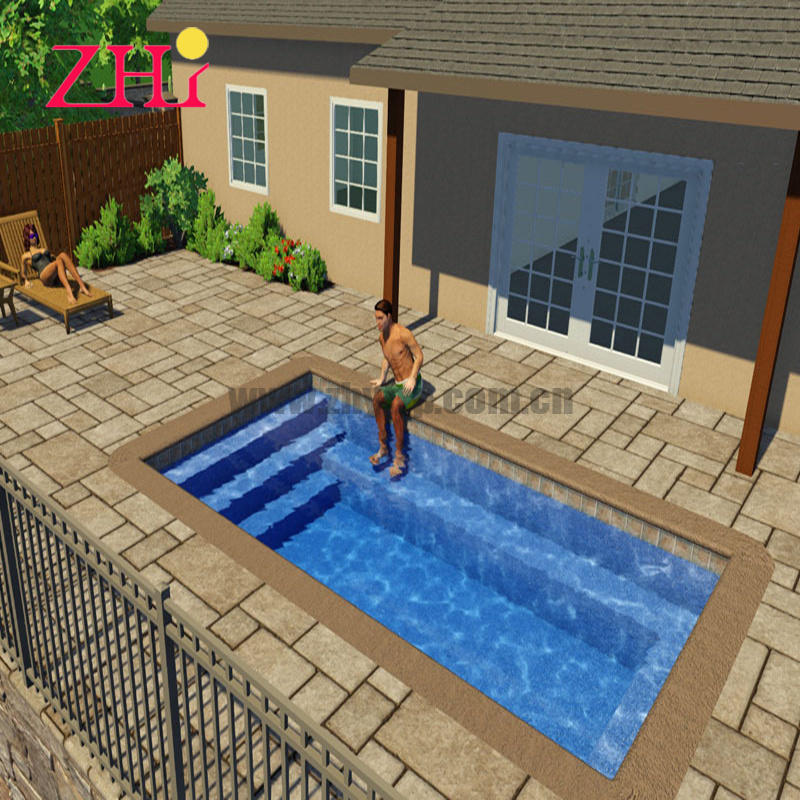 China Price Of Swimming Pool Swimming Pool Supplier Fiber Glass Inground Small Family Outside Swimming Pool China Fiberglass Pool And Swimming Pool Price