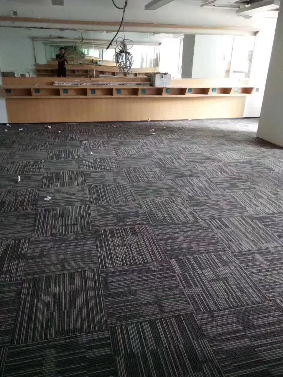 Image of: China Peel And Stick Self Adhesive Carpet Floor Tile 50 50cm Tufted Hotel Home Office Removable Pp Commercial Carpet Tiles China Carpet Tile And Office Carpet Price