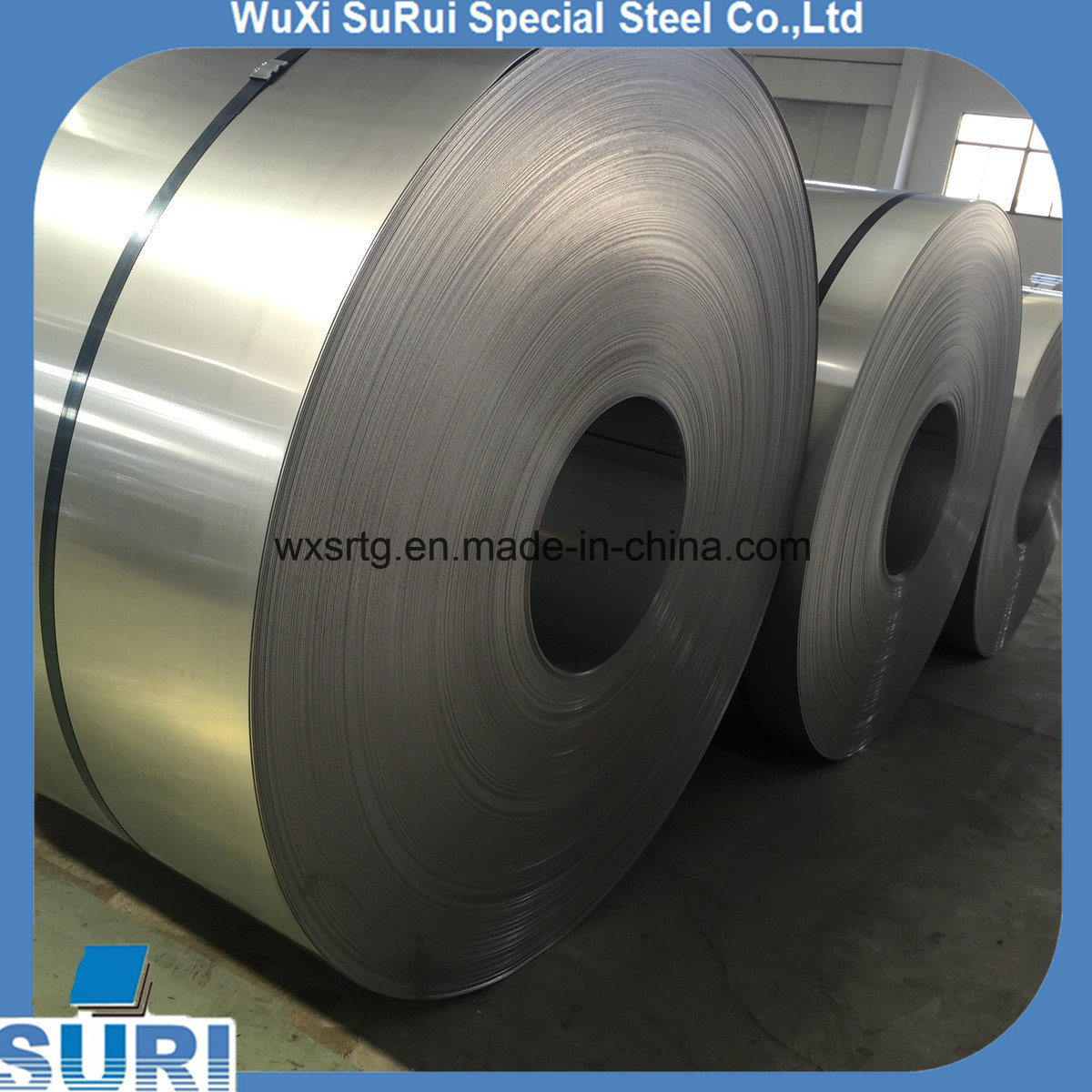 China 201 /304 Stainless Steel Half Copper Coil Cold Rolled - China ...
