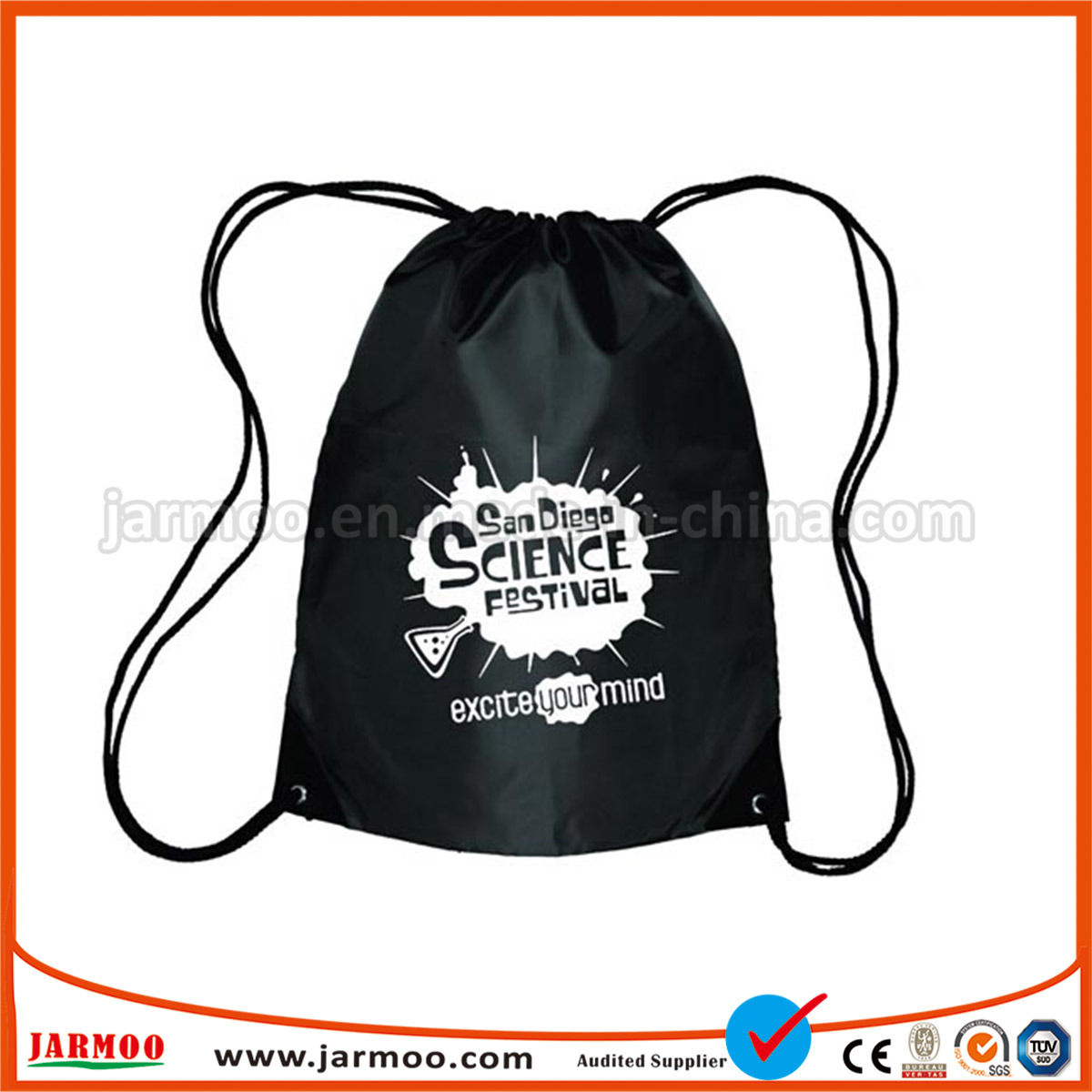 2610f6a285 China Promotional Nylon Wholesale Drawstring Bag - China Wholesale Drawstring  Bag, Wholesale Fabric Drawstring Bag