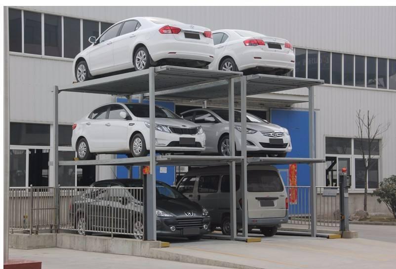 China Custom 2 Level Car Lift Parking Simple Car Lift Parking System