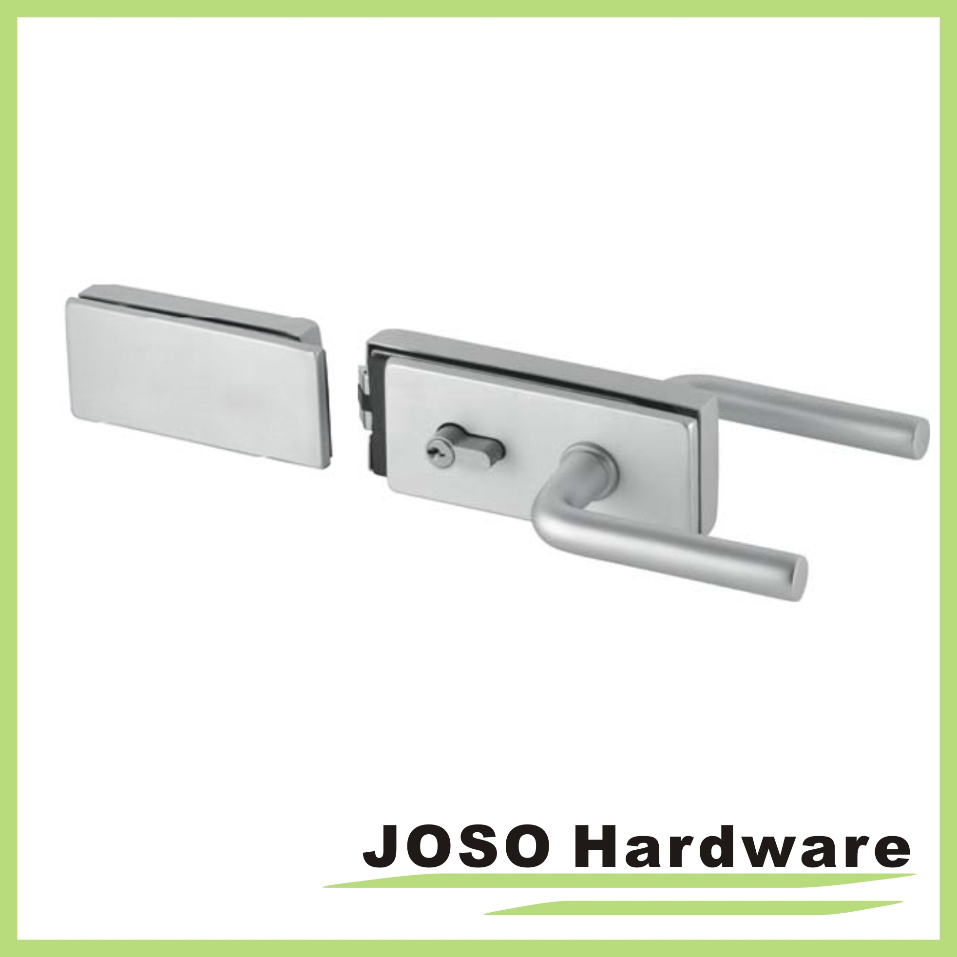 China Bathroom Hardware Fitting Fix Glass Door Lock Kit Gdl019a 3
