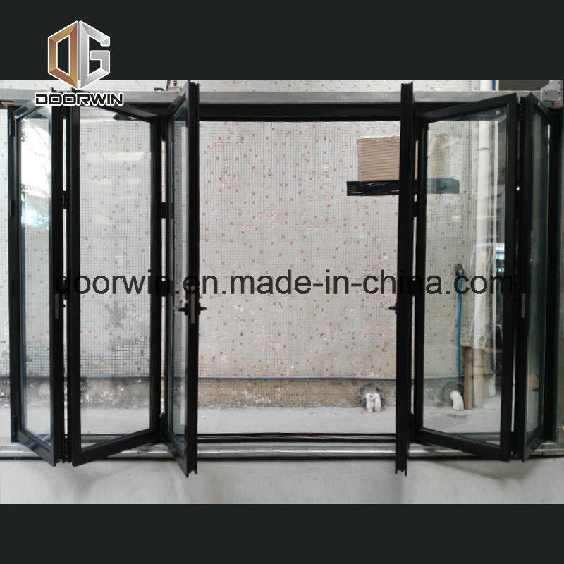 China Thermal Break Aluminium Bi Folding Door Folding And Sliding