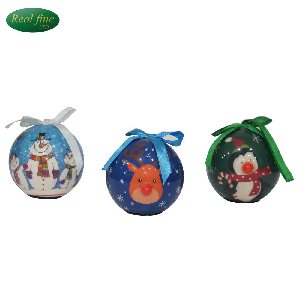 china christmas tree decoration color foam customized christmas ball with light china plastic ball promotional ball
