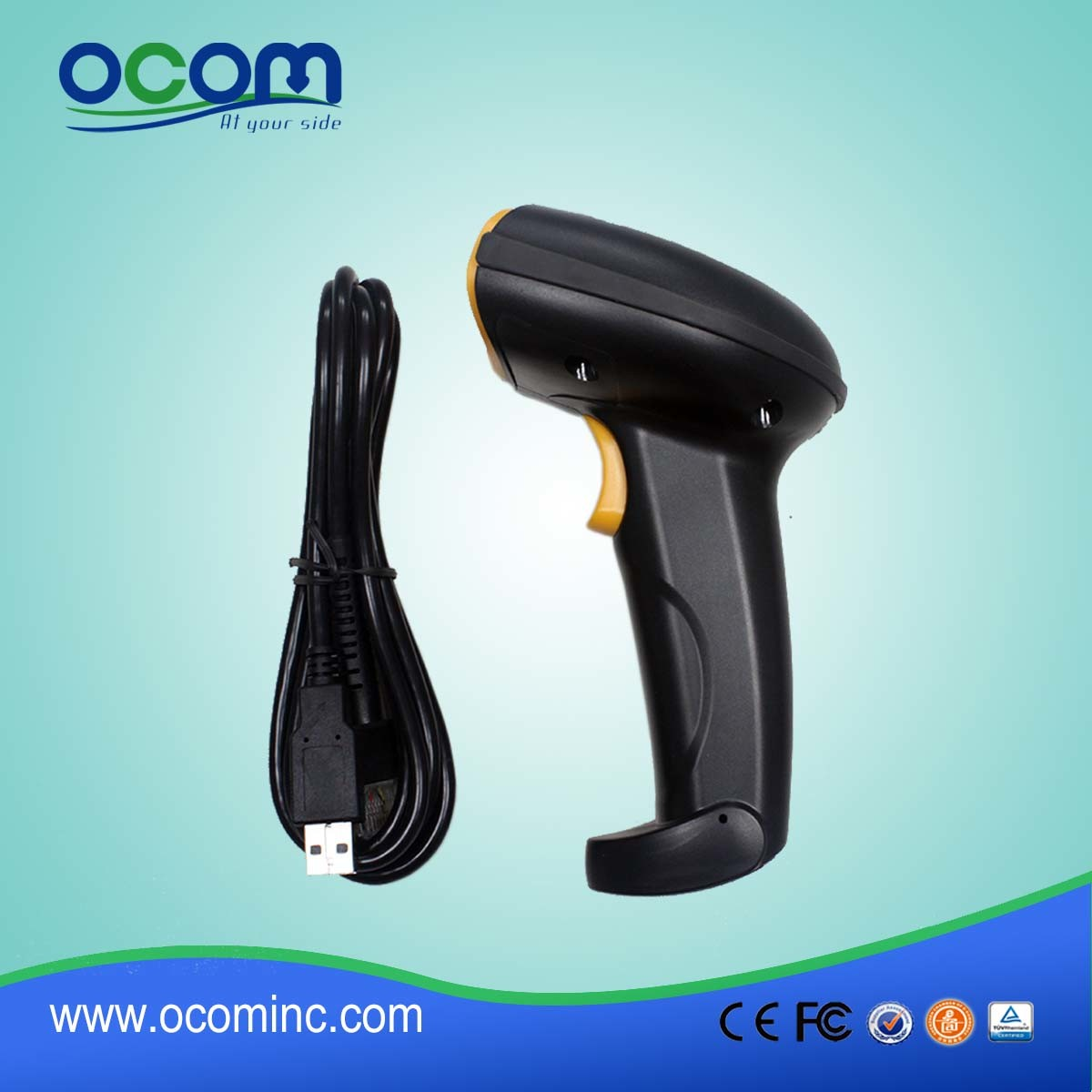 Ocbs-2010: Cheap Handheld USB Qr 2D Barcode Scanner pictures & photos