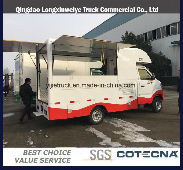 6ea536a0bf China Good Sales Mini Mobile Kitchen Food Van Truck Photos ...