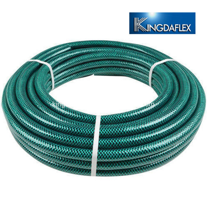 China Nylon Braided Flexible Water Irrigation PVC Garden Hose Pipe ...