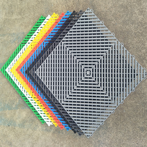 Polypropylene Pp Pvc Garage Floor Tiles