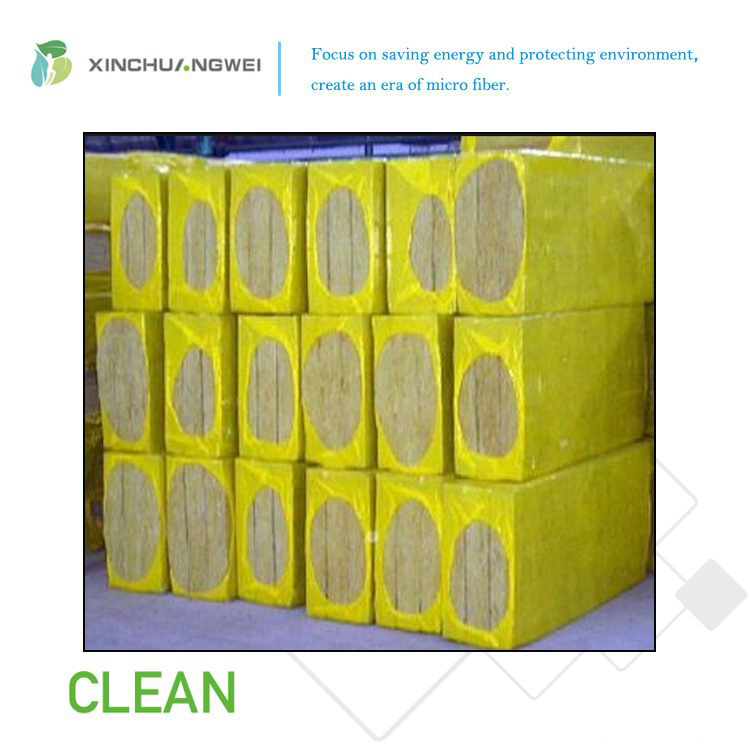 Interior Fireproof Rock Wool Wall Insulation Mineral Thermal Insulation Board