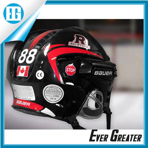 China waterproof customized die cut helmet stickers decals china helmet stickers custom helmet stickers