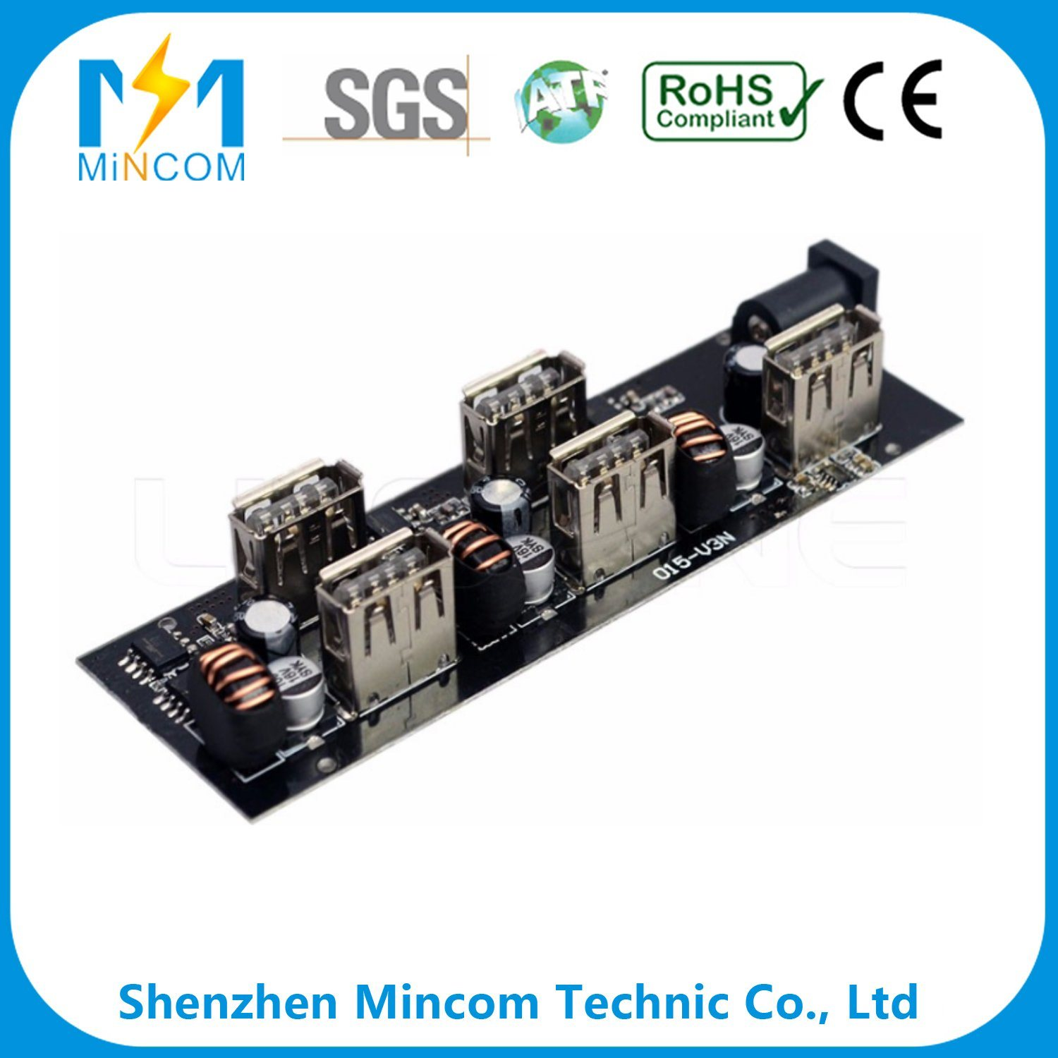 Wholesale Automobile Electronics Buy Reliable Smt Dip Pcba Suitable For Camera Circuit Board And Electronic Customized Pcb With Immersion Gold